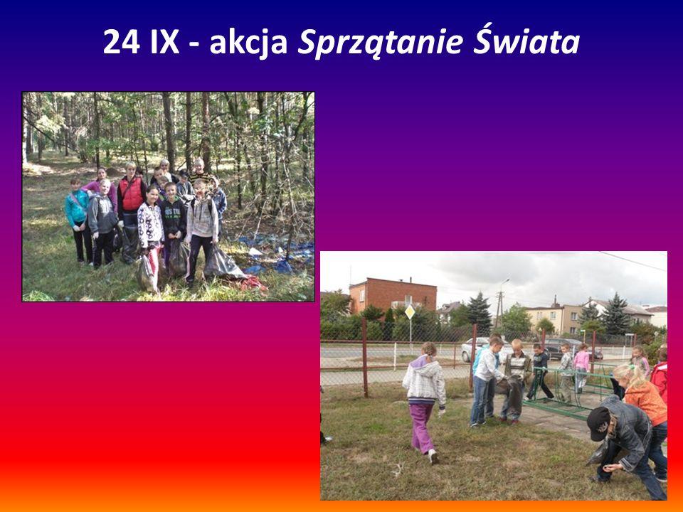 24 IX - akcja Sprzątanie Świata