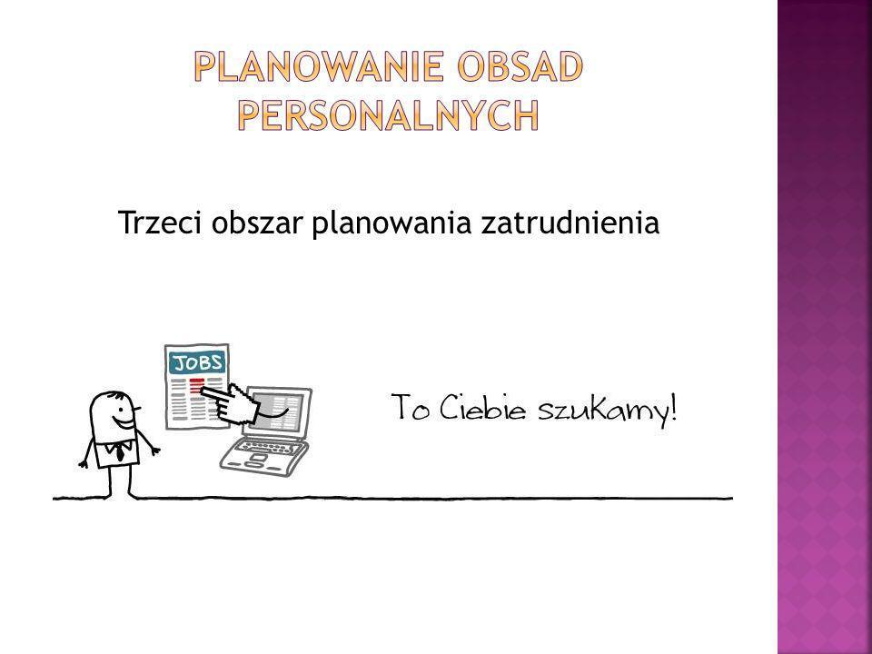 Trzeci obszar planowania zatrudnienia