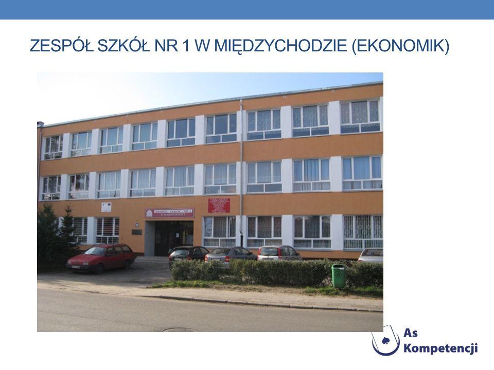 Zespół Szkół Nr 1 w Międzychodzie (czyli popularny Ekonomik ) to szkoła z prawie 50-letnią tradycją w kształceniu ekonomistów, handlowców i pracowników gastronomii, a od kilku lat także informatyków.