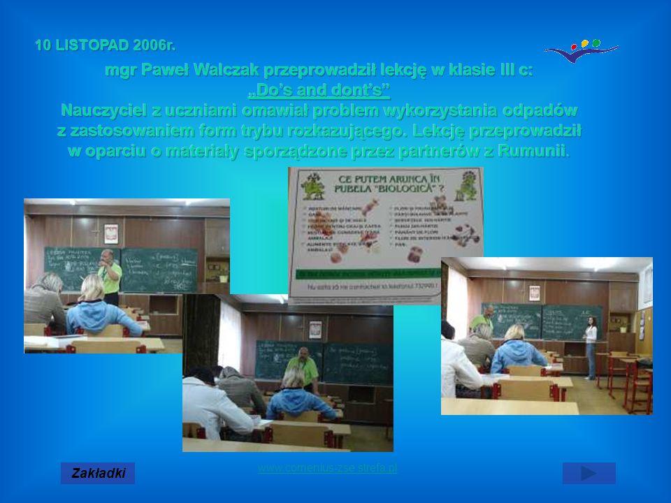 Zakładki www.comenius-zse.strefa.pl