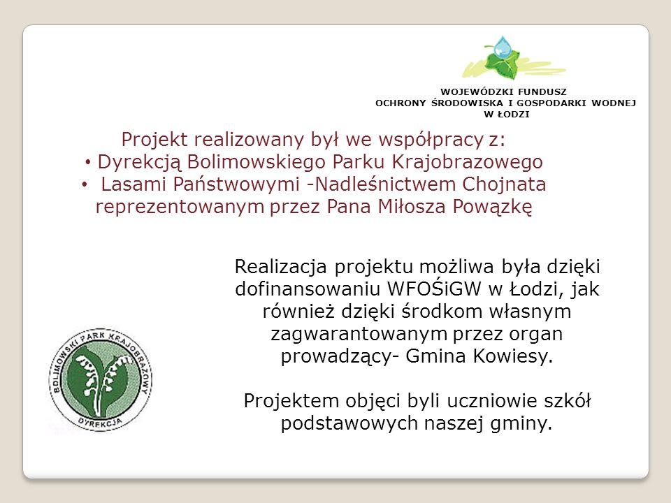 Tegoroczny projekt był kontynuacją całego cyklu działań podejmowanych w celu rozwijania świadomości ekologicznej- wiedzy, poglądów, wyobrażeń o środowisku i jego zagrożeniach, wśród uczniów i mieszkańców gminy.