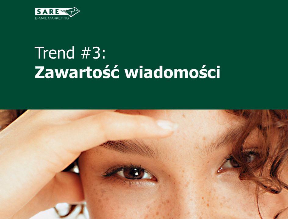 Trend #3: Zawartość wiadomości