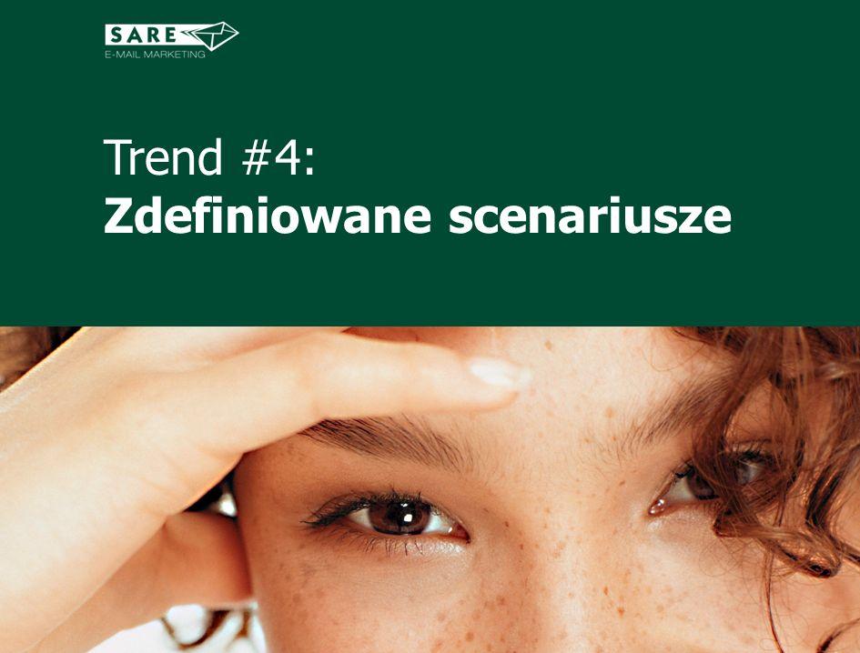 Trend #4: Zdefiniowane scenariusze