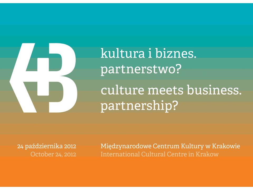 SPONSORING KULTURY I SZTUKI W POLSCE SZANSE I ZAGROŻENIA Kamila Kujawska-Krakowiak, Prezes Zarządu COMMITMENT TO EUROPE arts & business