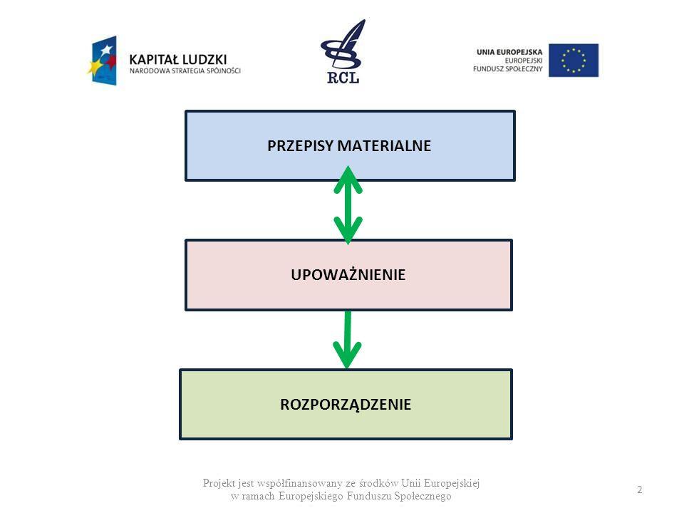 DEFICYT MATERII USTAWOWEJ (PRZYKŁADY) Rządowy projekt ustawy o zmianie ustawy o zawodach lekarza i lekarza dentysty przekazany do uzgodnień międzyresortowych (2011 r.) 3) art.