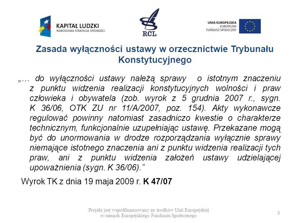 DEFICYT MATERII USTAWOWEJ (PRZYKŁADY) Rządowy projekt ustawy o zawodach pielęgniarki i położnej (cd.) Art.