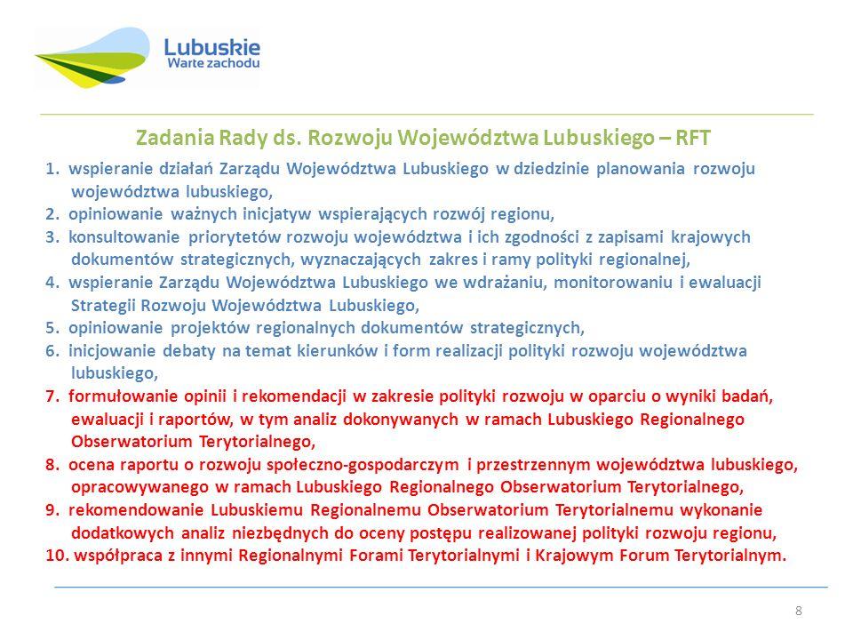 Dziękuję za uwagę Katarzyna Drożak Departament Rozwoju Regionalnego i Współpracy Zagranicznej 9