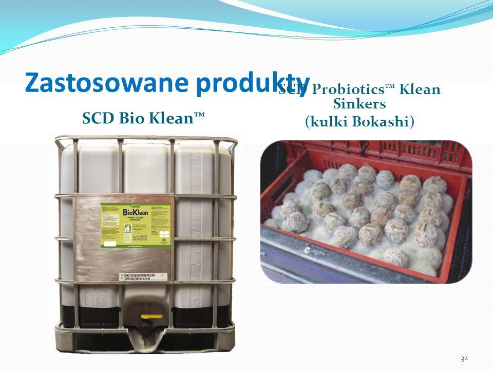 Zastosowane produkty SCD Bio Klean SCD Probiotics Klean Sinkers (kulki Bokashi) 32