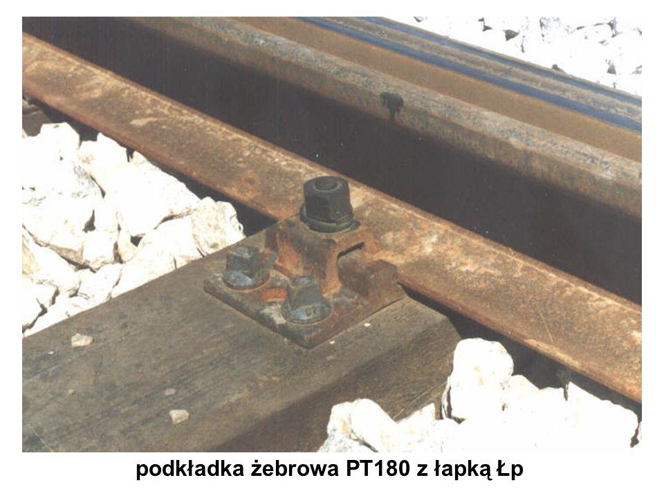 podkładka żebrowa PT180 z łapką Łp