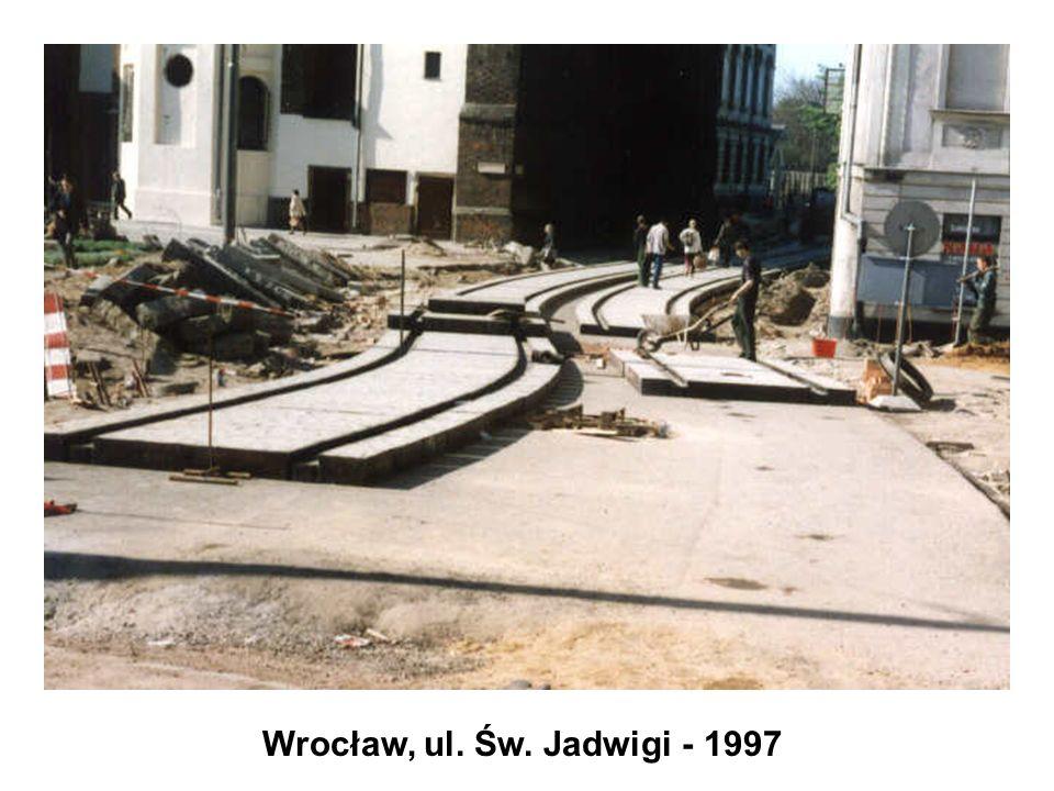 Wrocław, ul. Św. Jadwigi - 1997