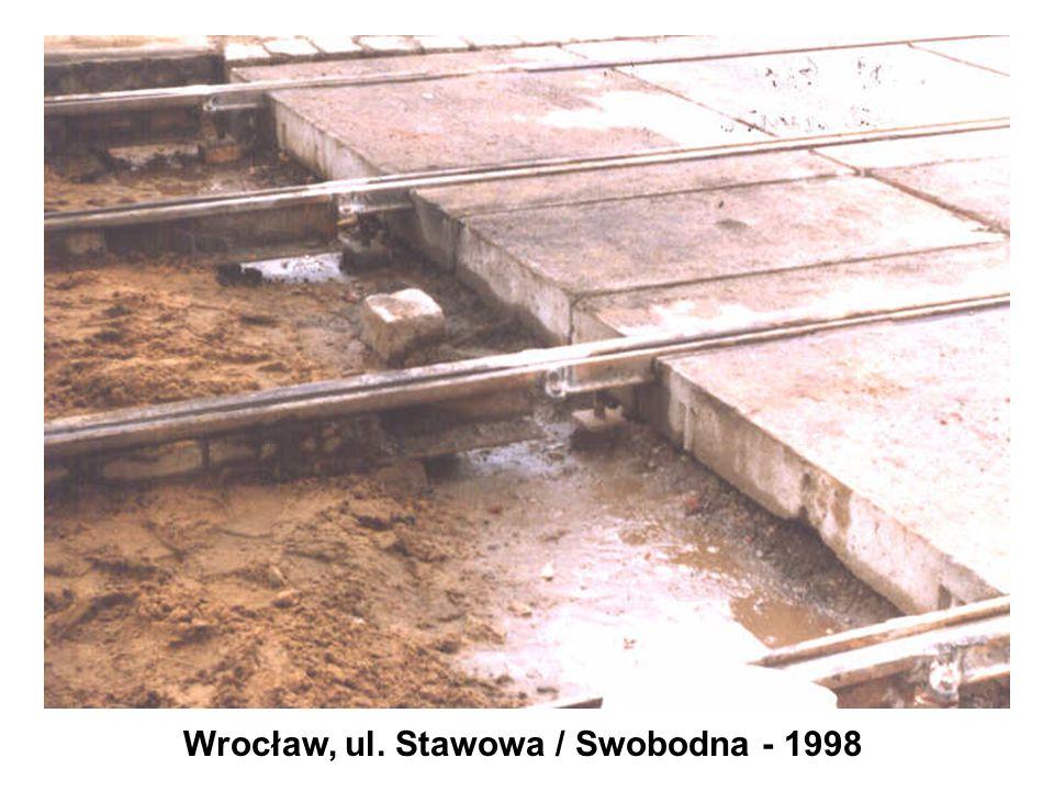Wrocław, ul. Stawowa / Swobodna - 1998
