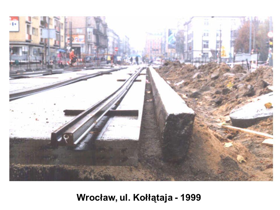 Wrocław, ul. Kołłątaja - 1999
