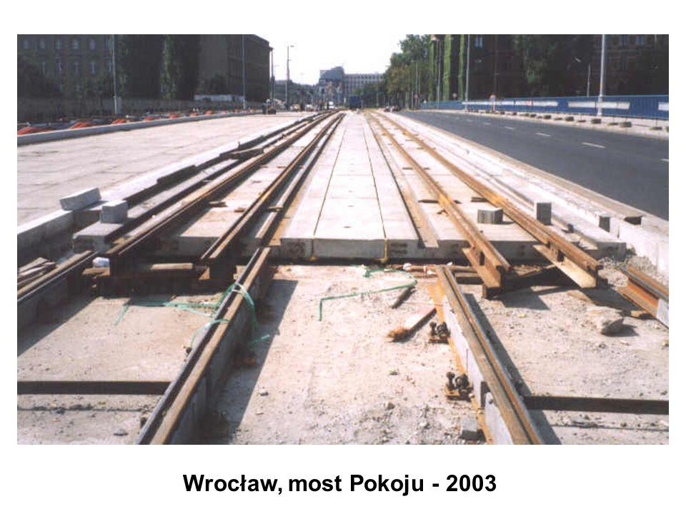 Wrocław, most Pokoju - 2003