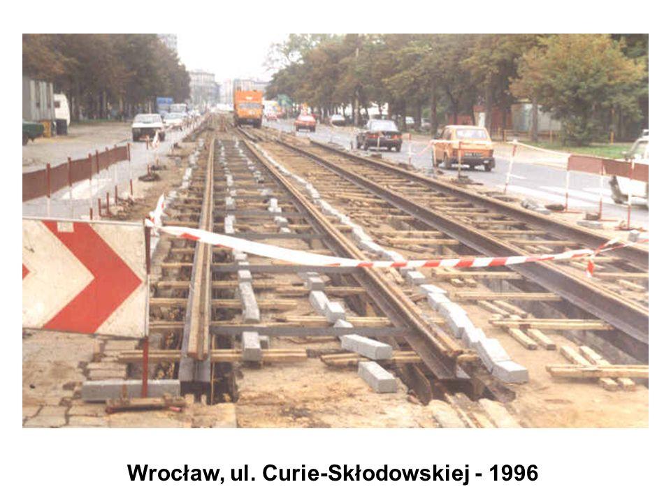 Wrocław, ul. Curie-Skłodowskiej - 1996