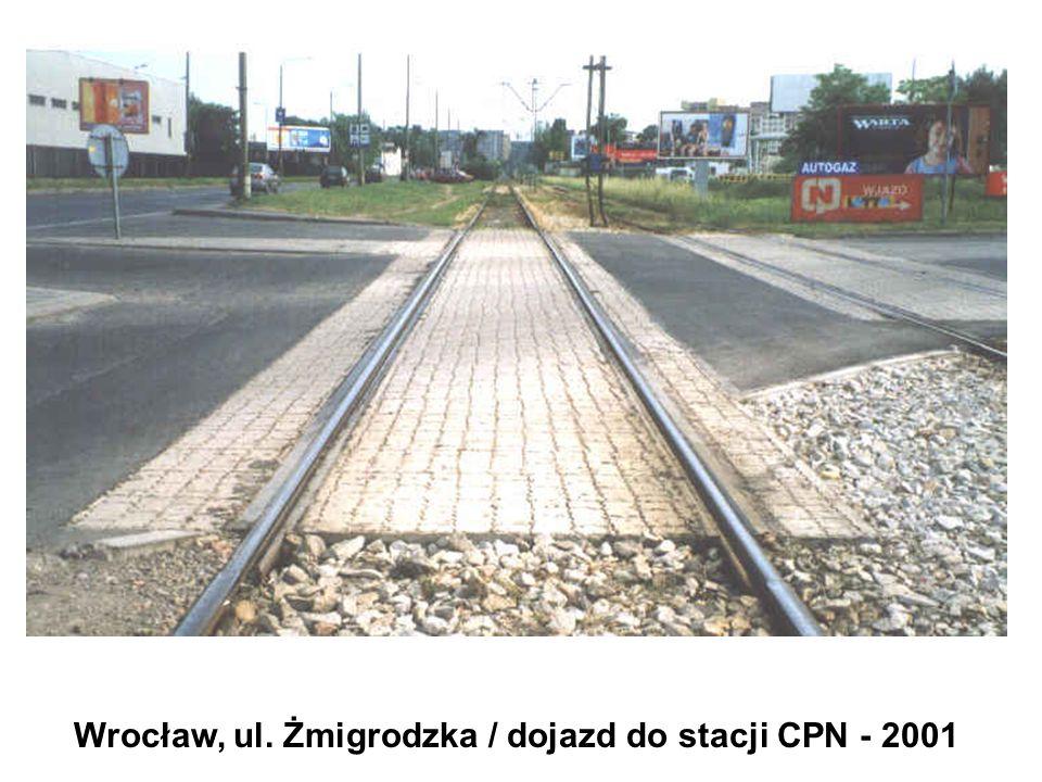 Wrocław, ul. Żmigrodzka / dojazd do stacji CPN - 2001