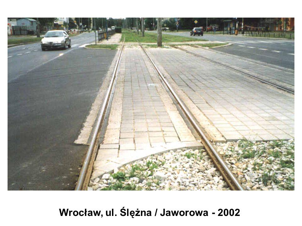Wrocław, ul. Ślężna / Jaworowa - 2002
