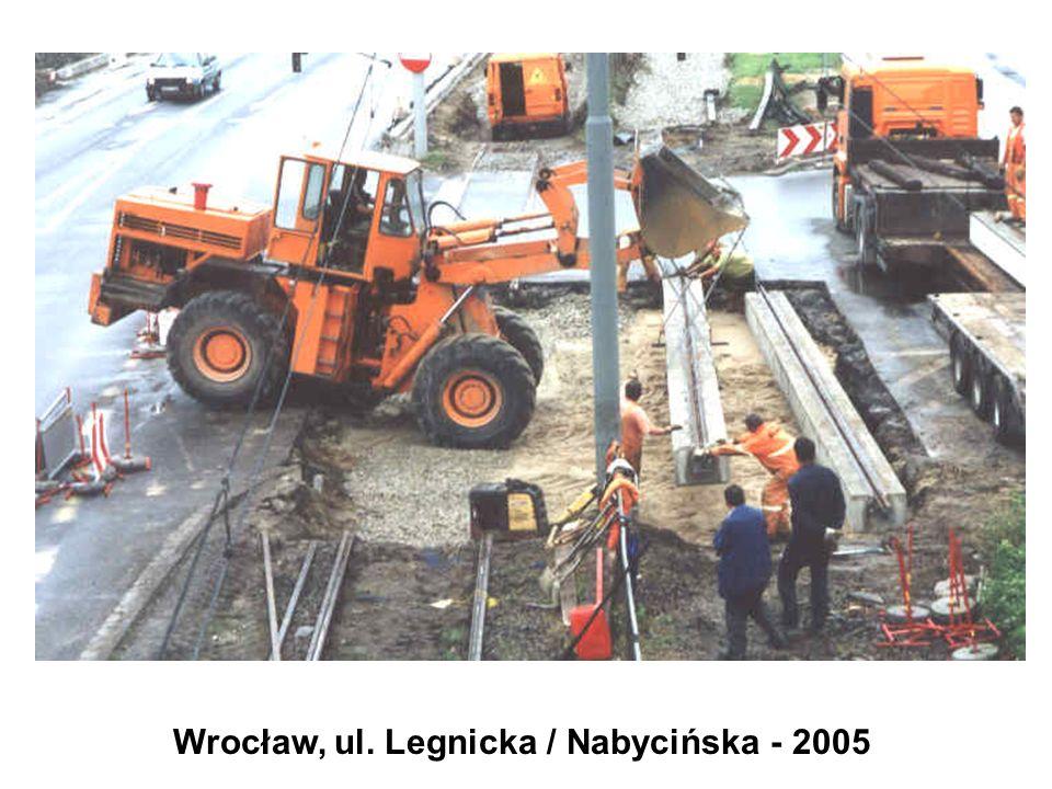 Wrocław, ul. Legnicka / Nabycińska - 2005