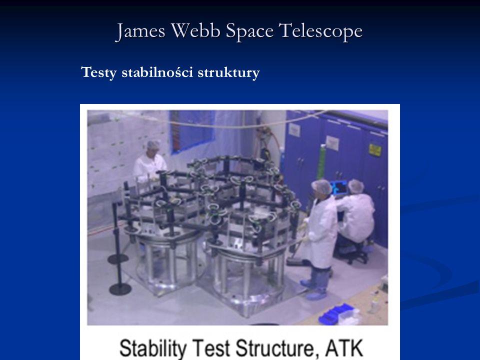 James Webb Space Telescope Testy stabilności struktury