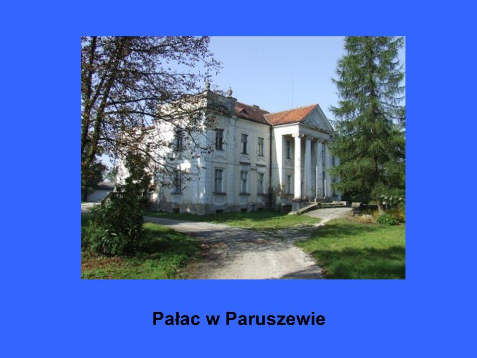 Kościół i dwór w Skarboszewie
