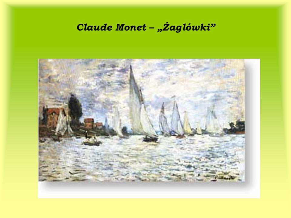 Claude Monet – Żaglówki