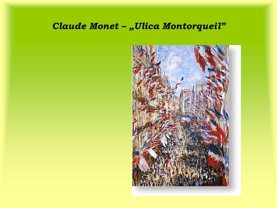Claude Monet – Ulica Montorqueil
