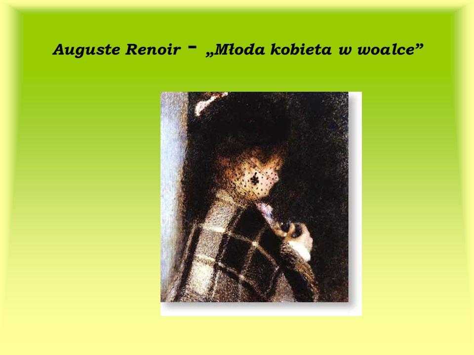 Auguste Renoir - Młoda kobieta w woalce