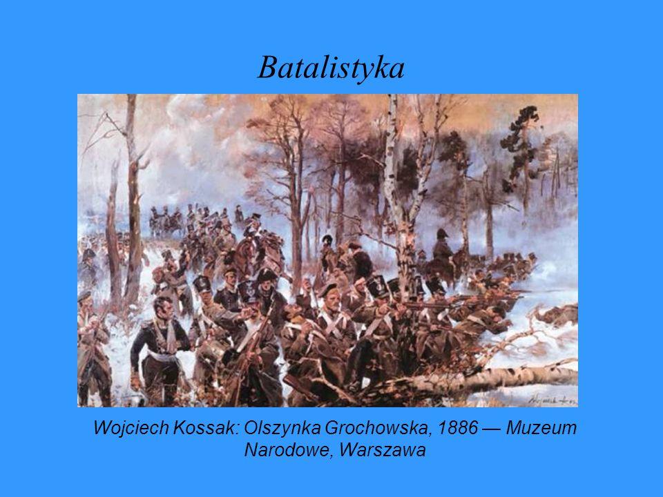 Batalistyka Wojciech Kossak: Olszynka Grochowska, 1886 Muzeum Narodowe, Warszawa