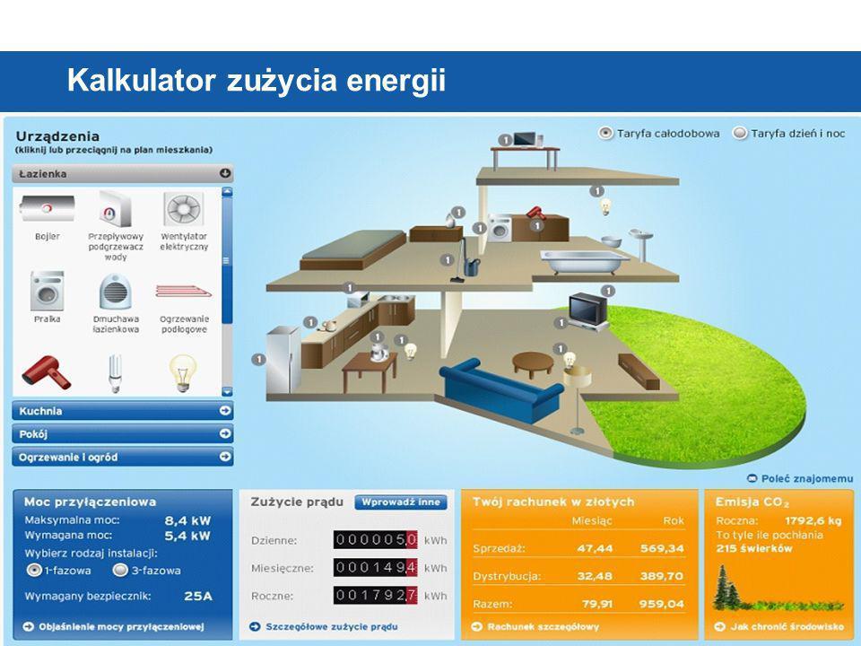 © Vattenfall AB Kalkulator zużycia energii