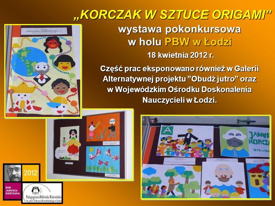 Część prac eksponowano również w Galerii Alternatywnej projektu Obudź jutro oraz w Wojewódzkim Ośrodku Doskonalenia Nauczycieli w Łodzi. wystawa pokon