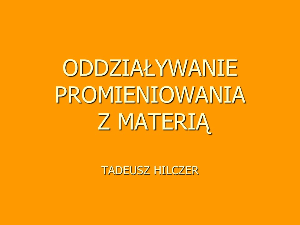 Przypadek szczególny 2 >> 1 przypadek szczególny dla szeregu złożonego z 2 członów 2 >> 1 1 bardzo małe) dla dostatecznie długiego czasu równowaga wiekowa Tadeusz Hilczer, wykład monograficzny 22