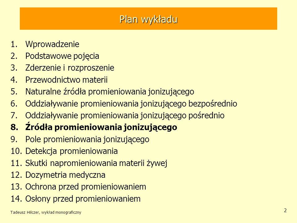 Przypadek szczególny 2 >> 1 Tadeusz Hilczer, wykład monograficzny 23