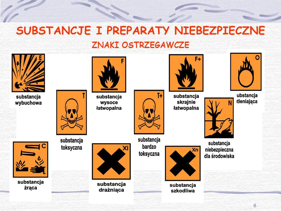 5 Substancje chemiczne to pierwiastki chemiczne i ich związki w stanie, w jakim występują w przyrodzie lub zostają uzyskane za pomocą jakiegokolwiek p