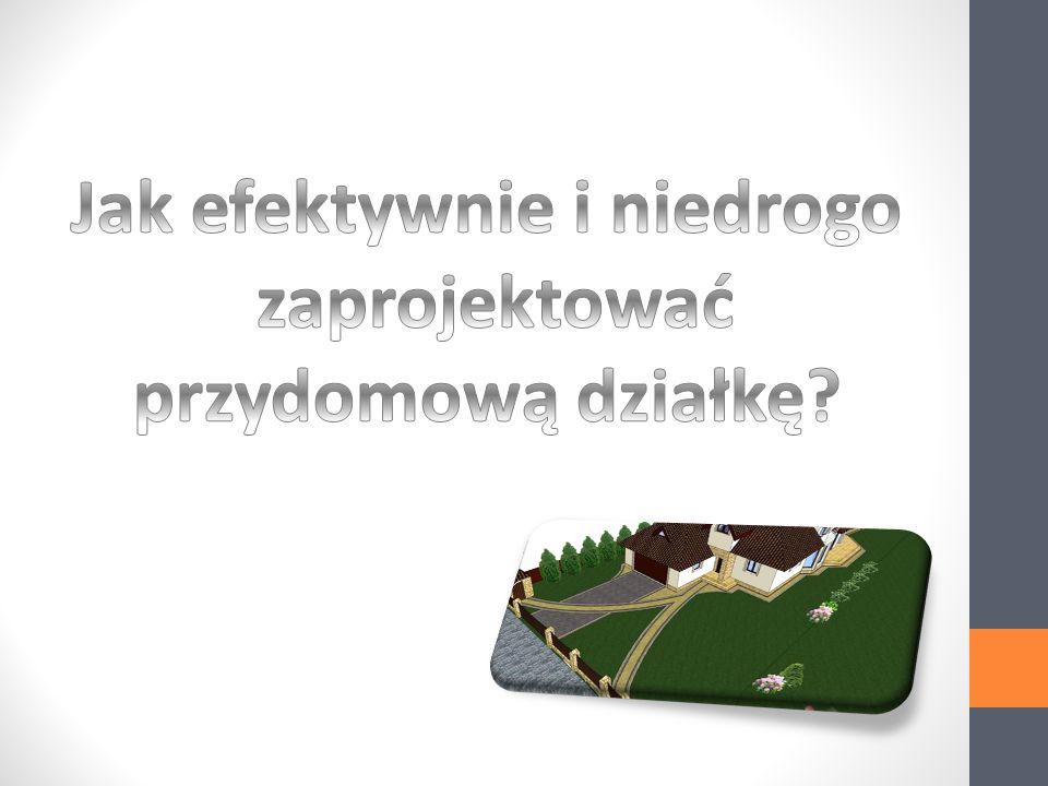 Powierzchnia działki - 9a Kształt działki - kwadrat Dom - 12m x 10m.