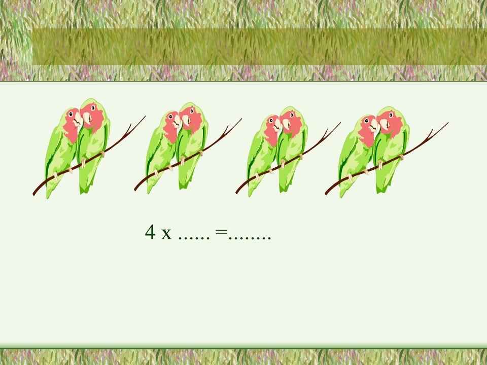 4 x...... =........