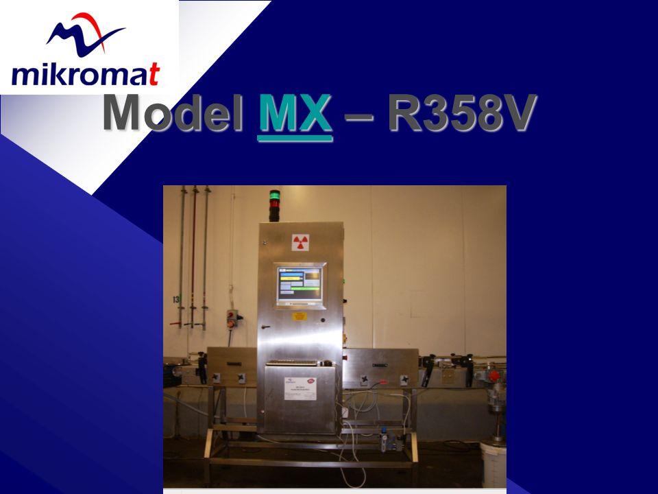 Model MX – R358V MX