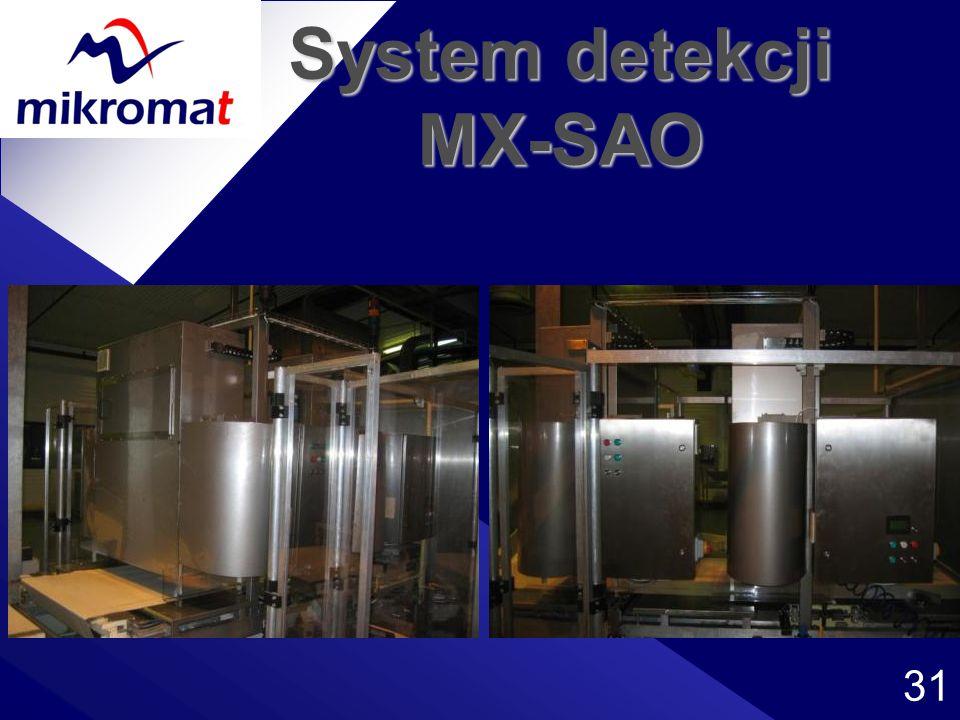 31 System detekcji MX-SAO