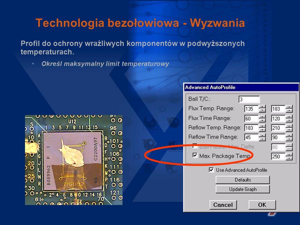 Seria Summit Dopasowanie termiczne Udoskonalona kontrola grzania dolnego Sterowanie grzaniem oparte o pomiar temperatury płyty. Zoptymalizowanie proce