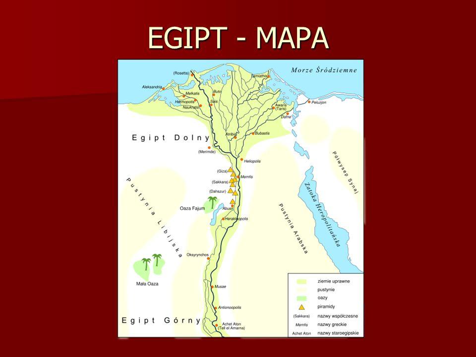 EGIPT - MAPA