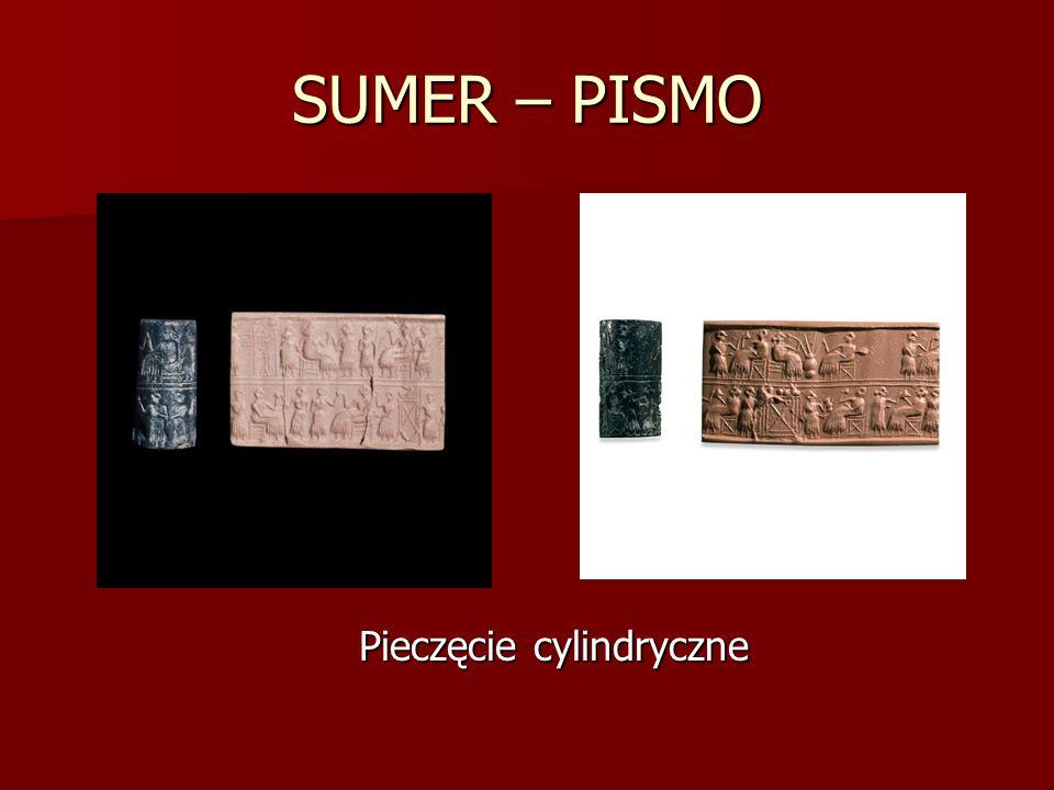 SUMER – PISMO Pieczęcie cylindryczne