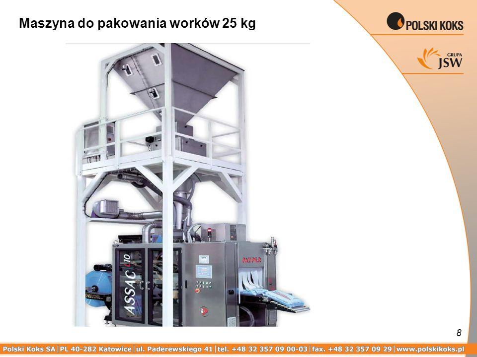 8 Maszyna do pakowania worków 25 kg
