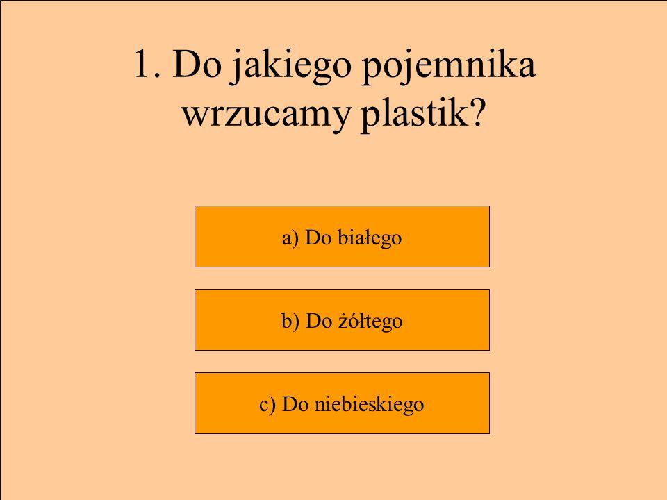 Następne pytanie DOBRZE