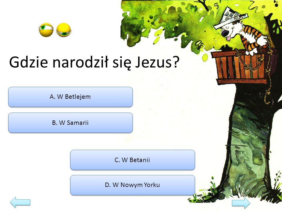 Kim był Piłat? A. Samarytaninem B. Namiestnikiem rzymskim C. Grekiem D. Żydem