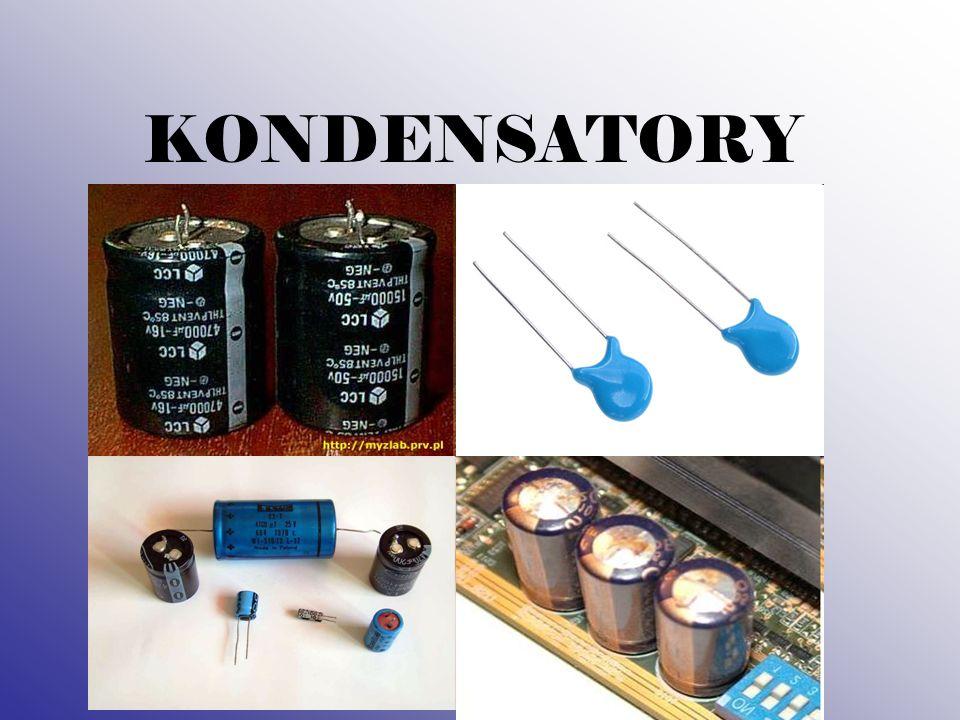 DEFINICJA Kondensator - jest to element elektryczny (elektroniczny), zbudowany z dwóch przewodników (okładek) rozdzielonych dielektrykiem.