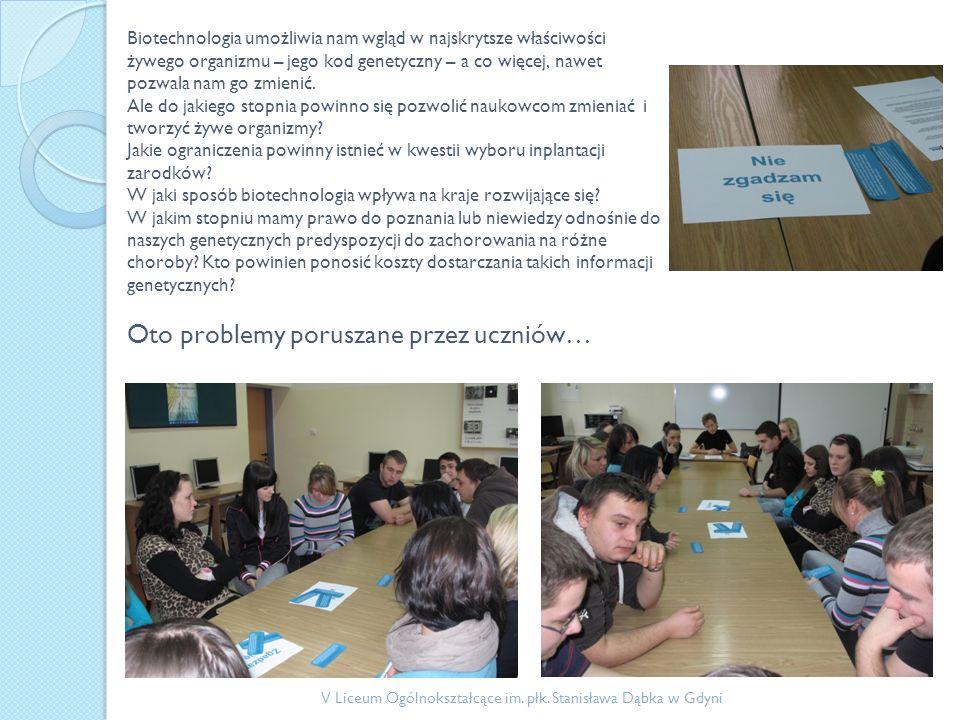 Podczas warsztatów uczniowie starali się wyleczyć chorobę nowotworową wirtualnej Nadii.