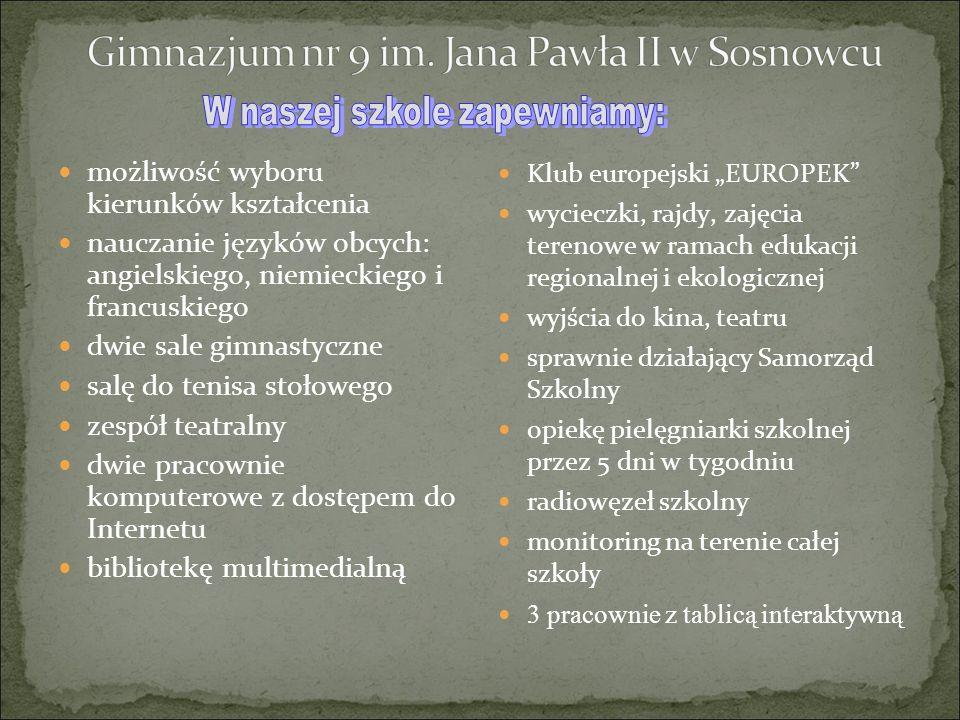 Bierzemy udział w ogólnopolskich programach: Trzymaj formę Szkoła bez przemocy Golden 5