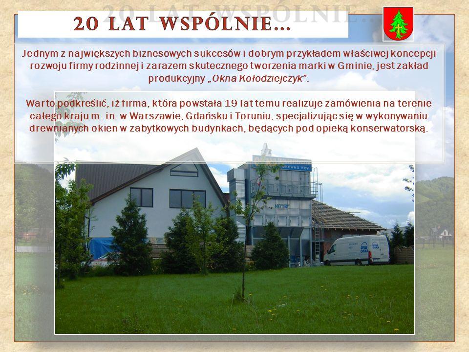 Gmina Ochotnica Dolna w ostatnich 20 latach to nie tylko inwestycje drogowe, kanalizacyjne i oświatowe.