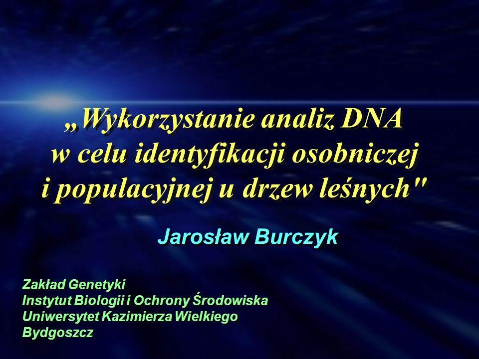 Wykorzystanie analiz DNA w celu identyfikacji osobniczej i populacyjnej u drzew leśnych