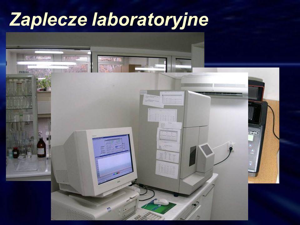 Zaplecze laboratoryjne