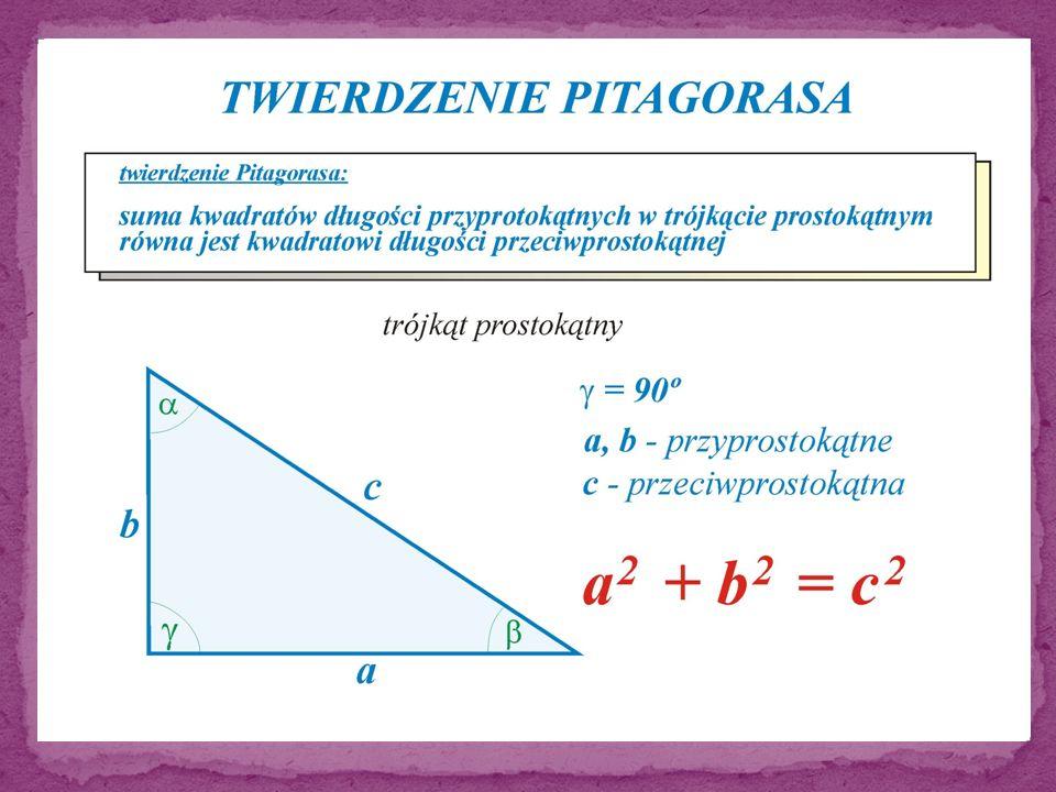 Geometryczny opis Twierdzenia Pitagorasa
