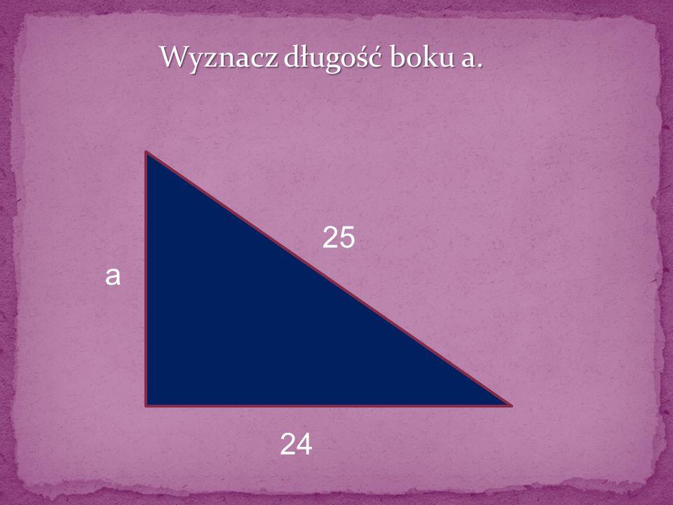 Wyznacz długość przekątnej prostokąta 8 6